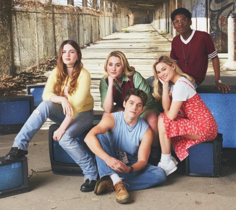 The cast of Cruel Summer via the Freeform press site