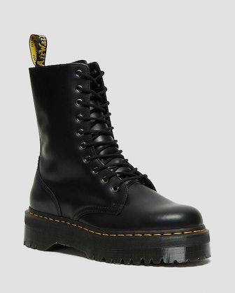 Jadon Platform Combat Boots
