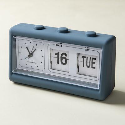 Mid-Century Calendar Clock