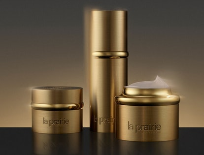 La Prairie's new Pure Gold collection.