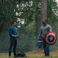 Captain America's legacy isn't the shield. It's Sam Wilson and Bucky Barnes.