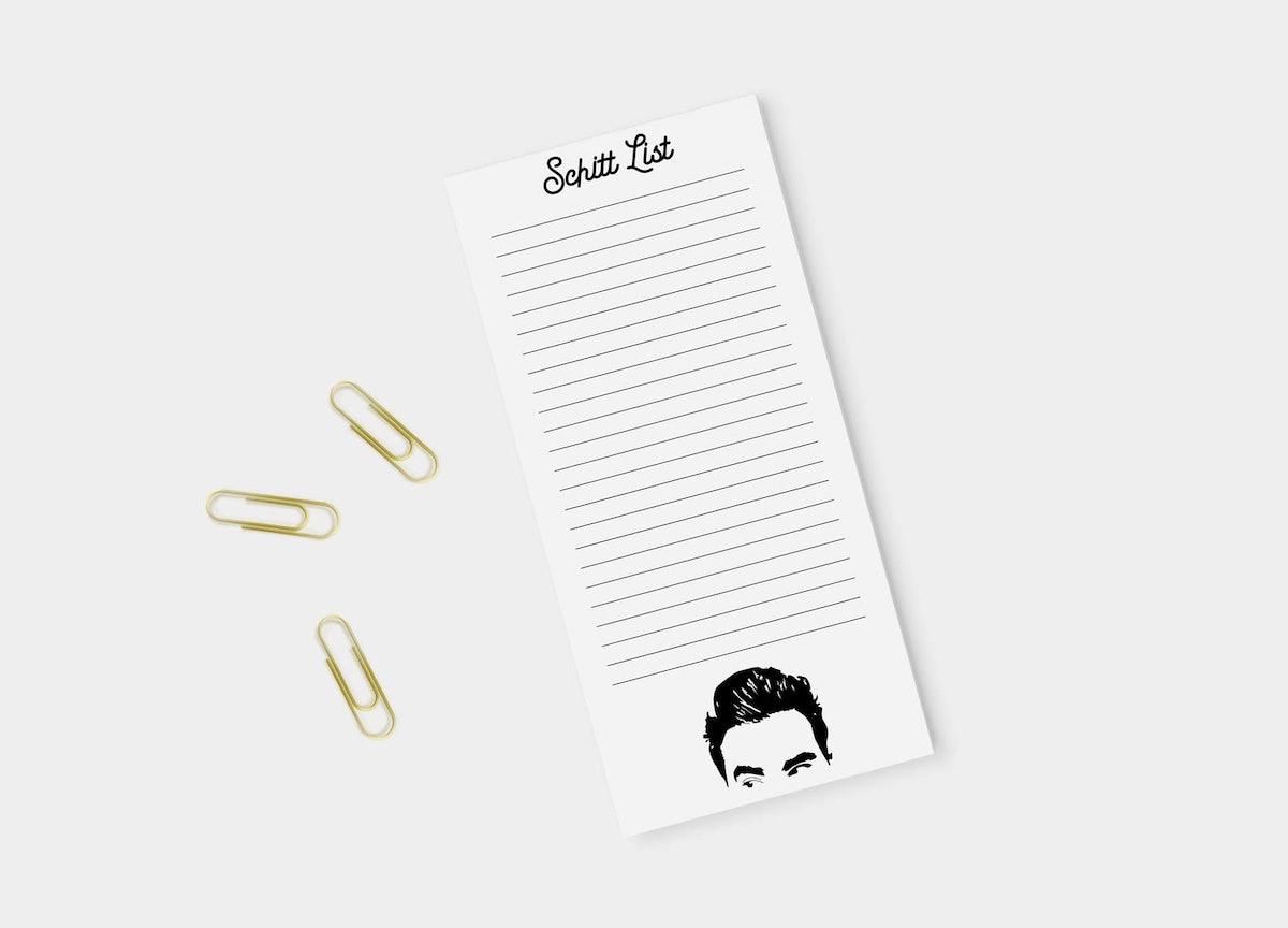 Schitt's Creek Notepad
