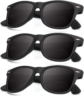KALIYADI Matte Finish Polarized Sunglasses (3-Pack)