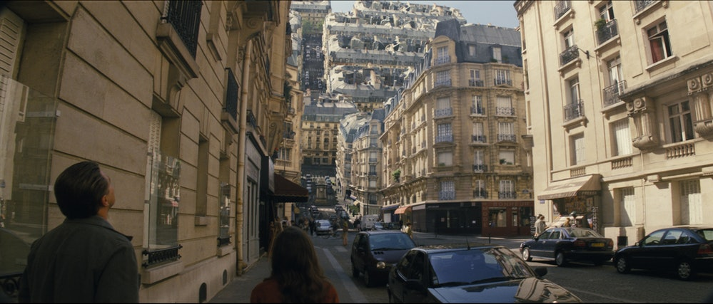 'Inception' folding Paris scene