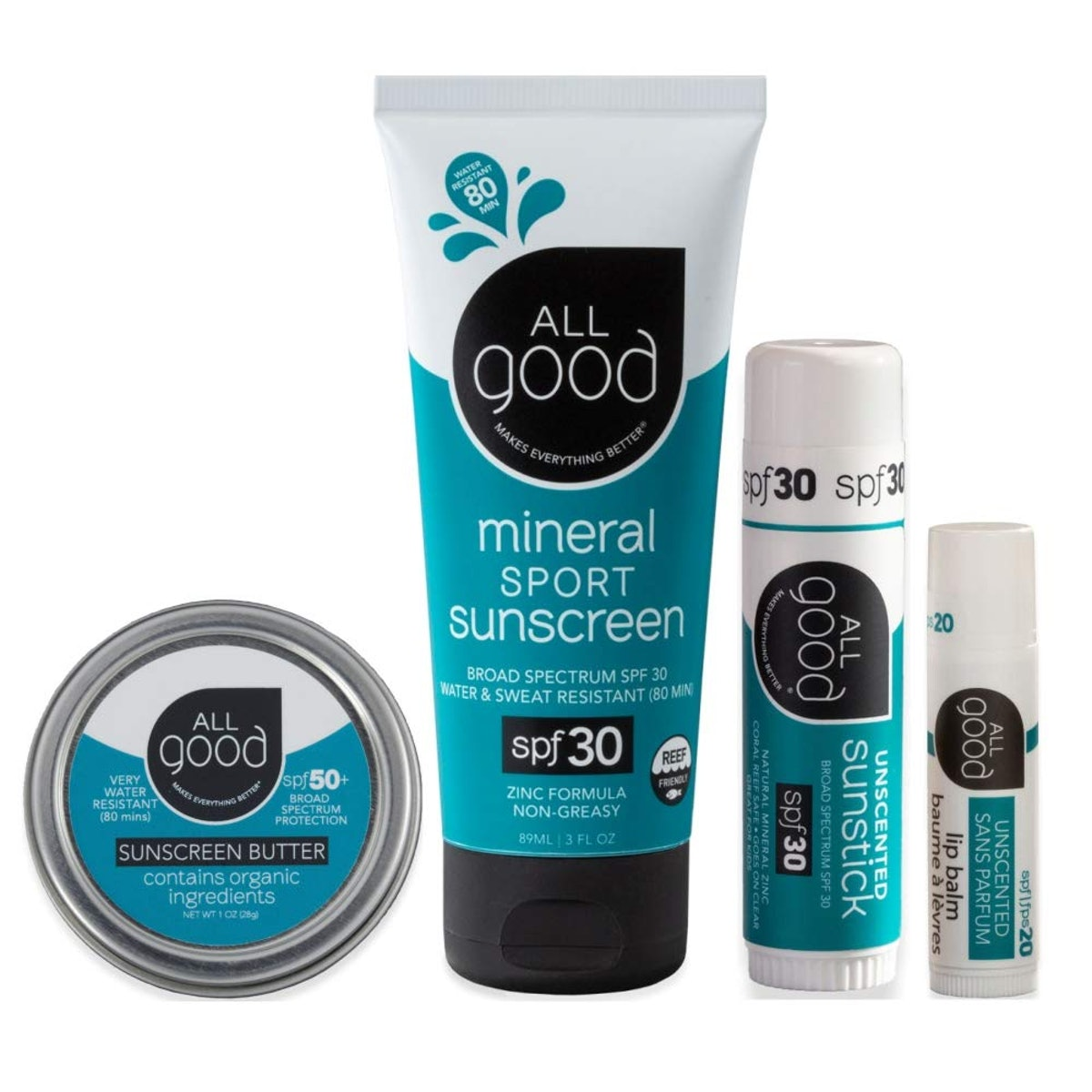 All Good Mineral Sun Care Set
