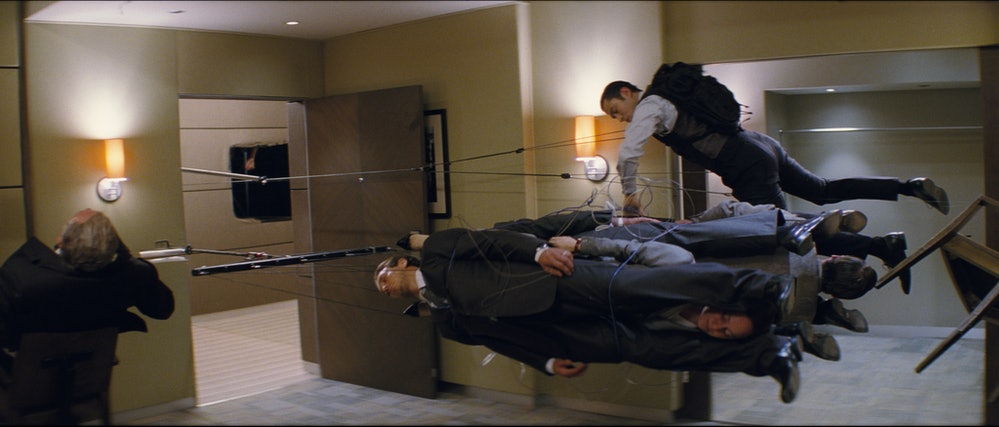 'Inception' visual effects behind the scenes