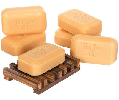 Soap Works Tea Tree Oil Soap (6-Pack)