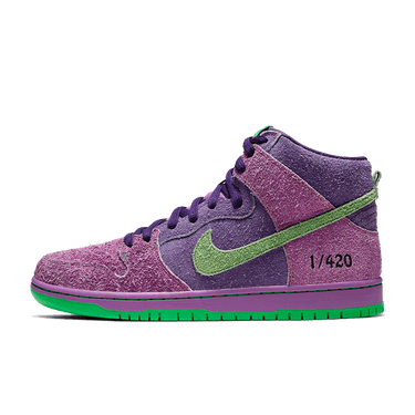 "Nike SB 2020 ""Purple Skunk"" Dunk High"