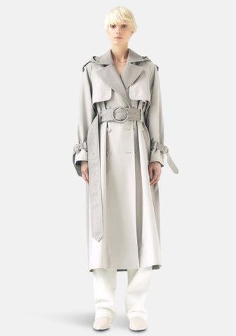 Sustainable Water Resistant Trench Coat