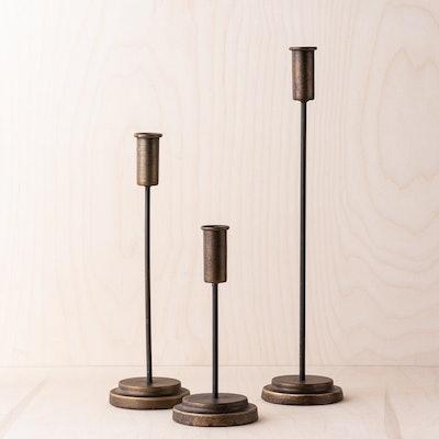 Metal Asher Candleholder