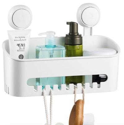 Vacuum Suction Cup Removable Shower Shelf