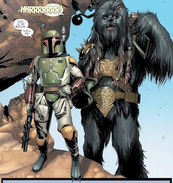 Star Wars Mandalorian Chewbacca Wookiee leak