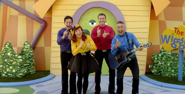 'Ready, Steady, Wiggle' is the latest iteration of the Australian children's music group 'The Wiggles.'
