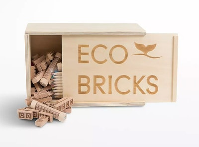Eco-Bricks 90-Piece Set