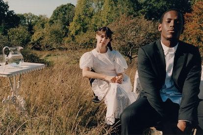 Daisy Edgar-Jones and Micheal Ward in the Simone Rocha X H&M campaign film.