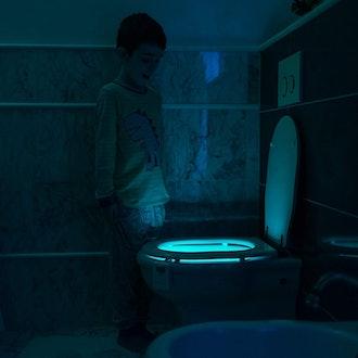 RainBowl 16-Color Toilet Bowl Night Light