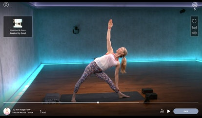Work through this 20-minute yoga flow for beginners.