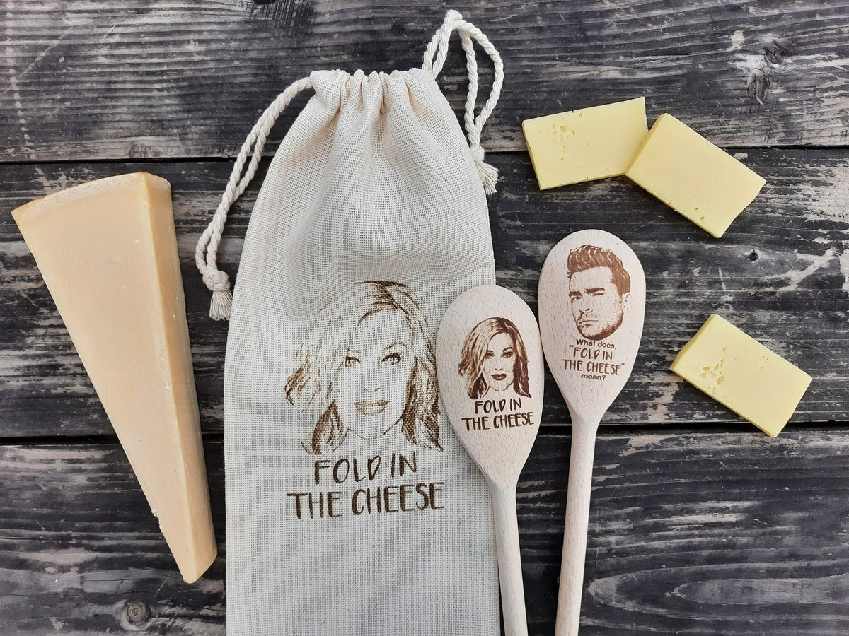 Fold In The Cheese Spoon Set