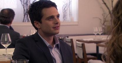 Sebastian Stan recurred as Carter Baizen on 'Gossip Girl.' Screenshot via HBO Max.