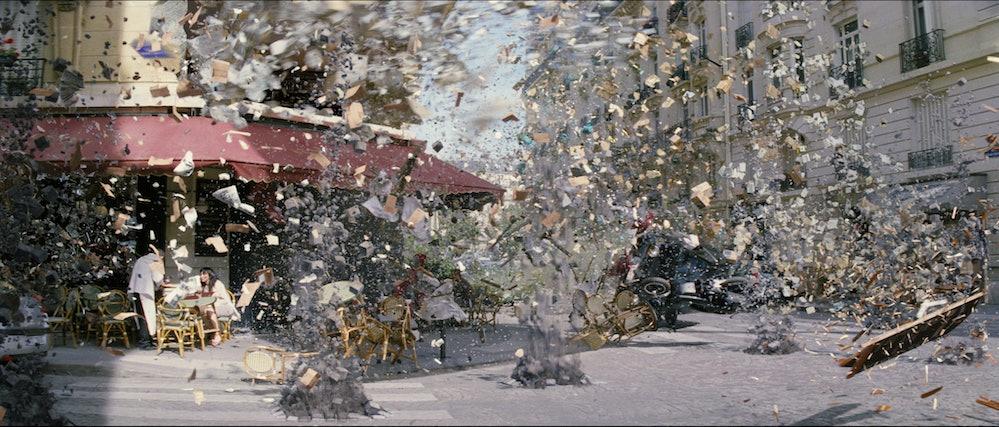 'Inception' explosion scene