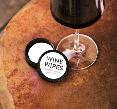 The Vanity Project Wine Wipes (30 Count)