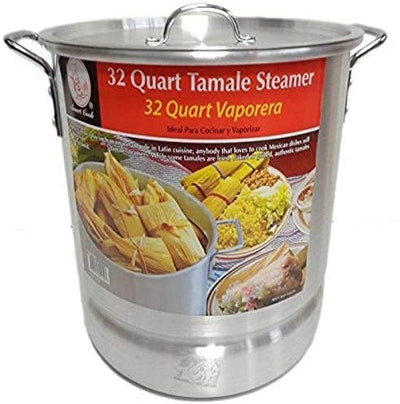 Smart Cook Tamale Steamer Vaporera Stock Pot (32 Quarts)