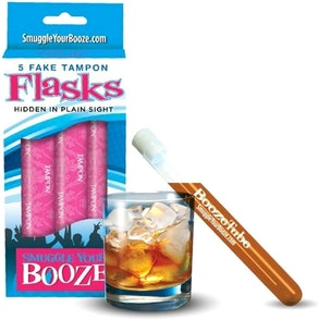Smuggle Your Booze Tampon Flasks (3-Pack)