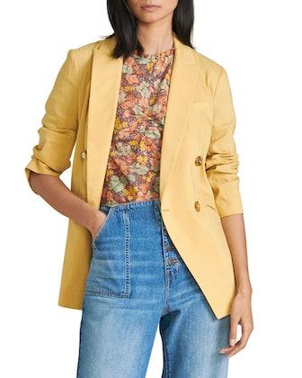 Nisha Double-Breasted Jacket