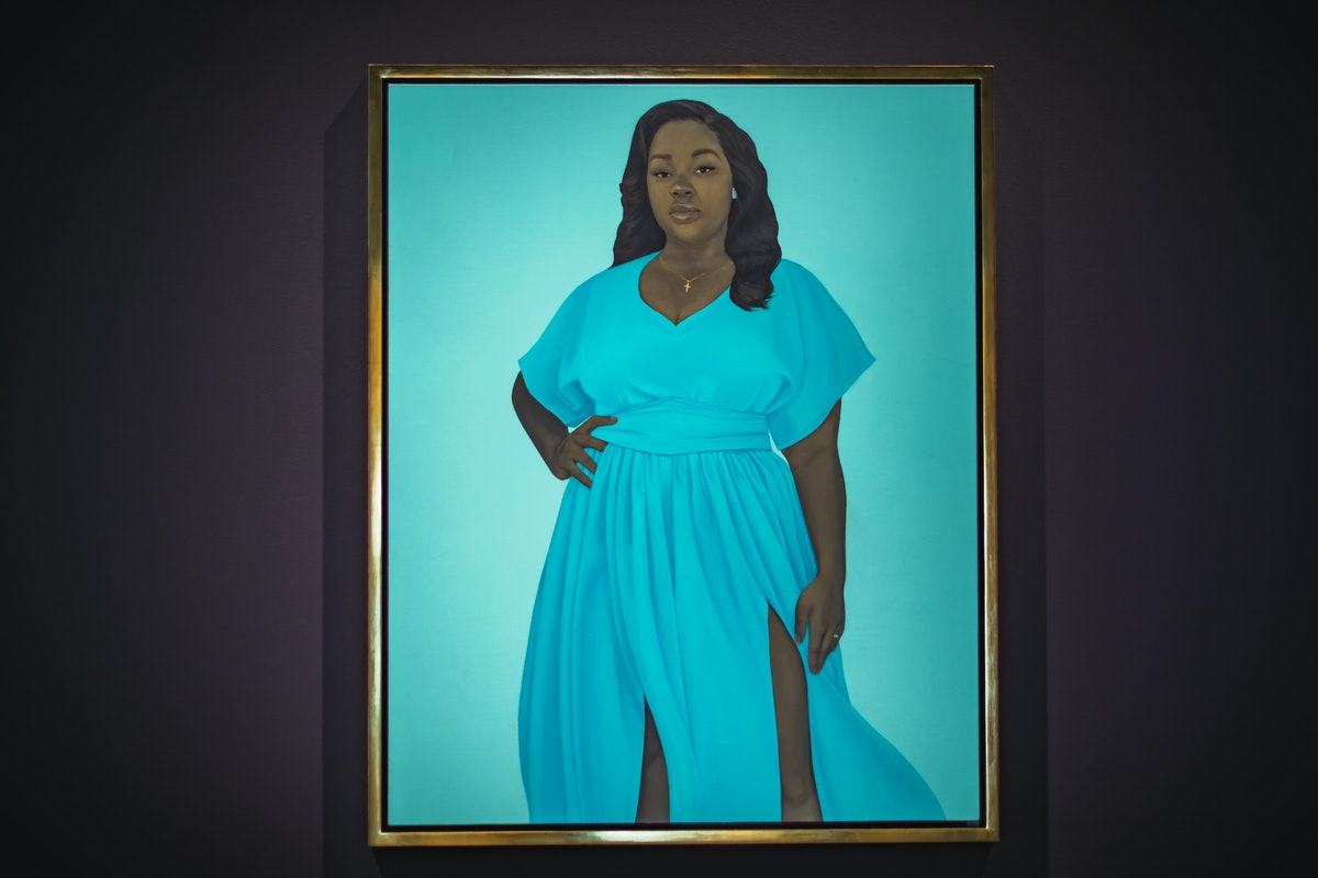 Amy Sherald's portrait of Breonna Taylor