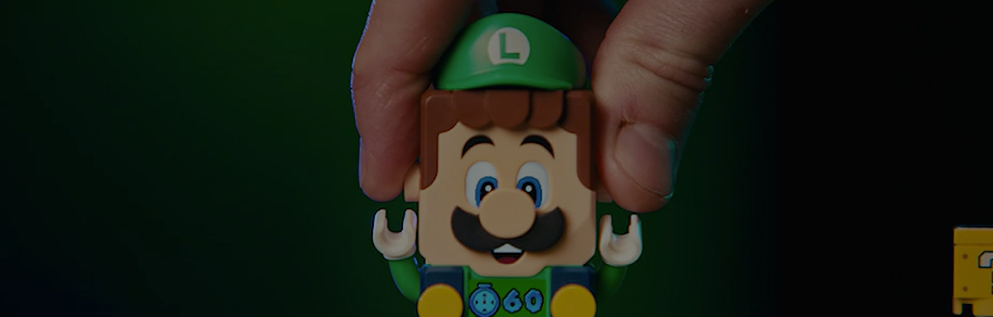 LEGO Super Mario is now available in a starter pack featuring Luigi.