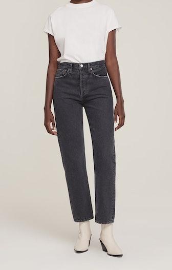 90's Pinch Waist High Rise Jeans