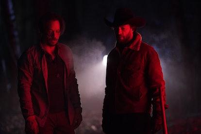 John Wayne and Blake on Big Sky via the ABC press site