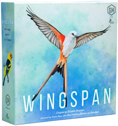 Board game design for Wingspan