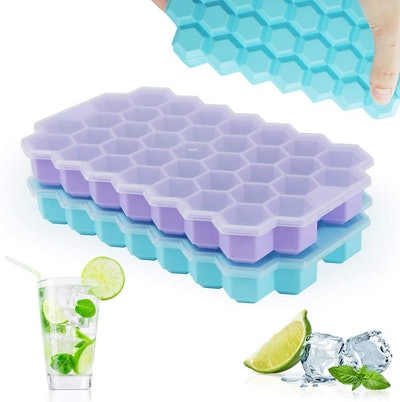 TGJOR Ice Cube Trays (2-Pack)