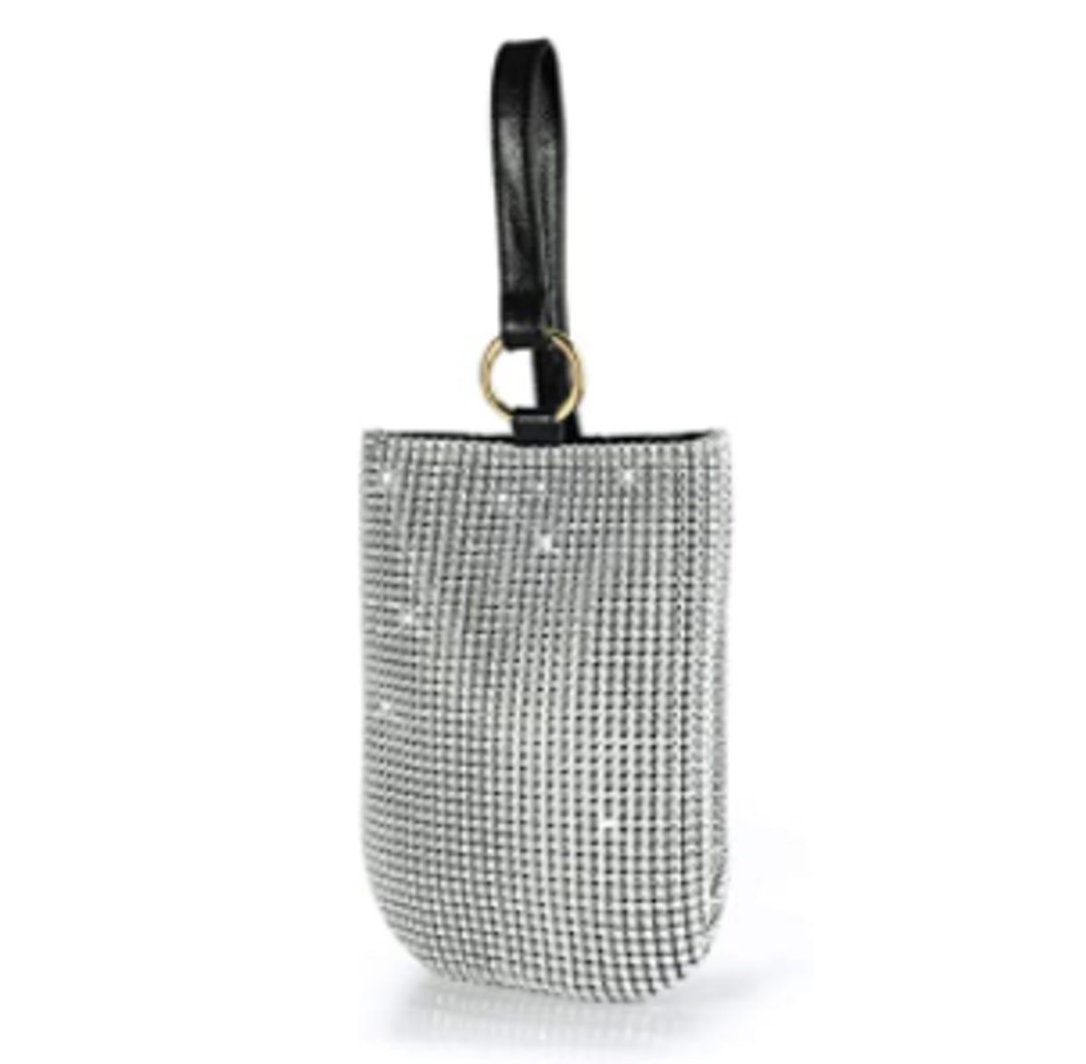 Hoxis Glitter Evening Handbag