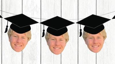 BurlapandTwineCo Personalized Graduation Banner