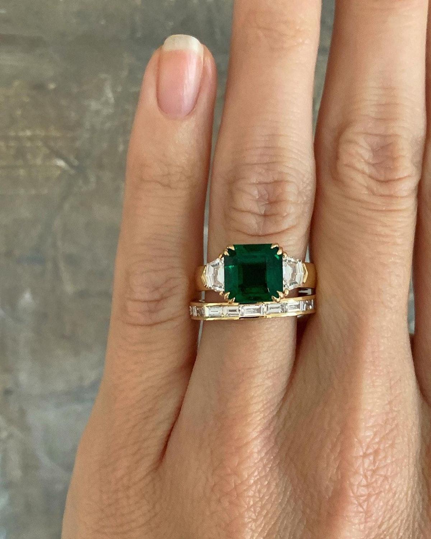 Caroline Vreeland engagement ring.