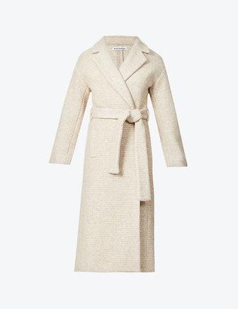 Gooding tie-belt wool-blend coat