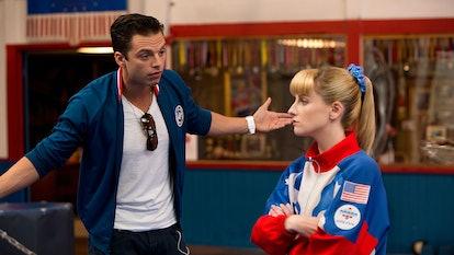 Sebastian Stan stars alongside Melissa Rauch in 'The Bronze.' Photo via Sony