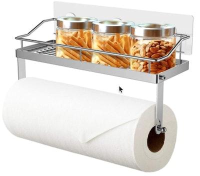 ODesign Paper Towel Holder With Shelf