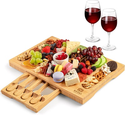 ROYAL CRAFT WOOD Bamboo Cheese Board