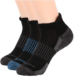 Copper Fit Unisex Copper-Infused Socks (3-Pack)