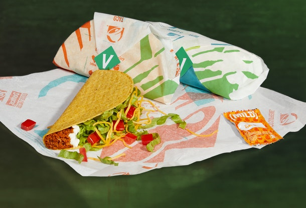 """Taco Bell is testing a plant-based meat """"Cravetarian"""" Taco and here's the scoop."""
