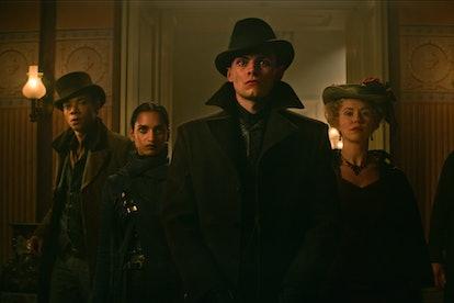 Freddy Carter as Kaz Brekker in 'Shadow and Bone' via Netflix press site.
