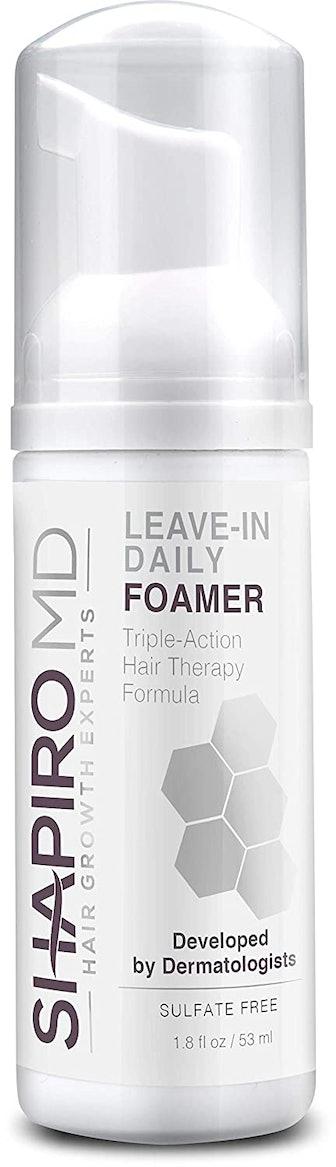 Shapiro MD Hair Growth Experts Leave-In Daily Foamer, 1.8 Fl. Oz.