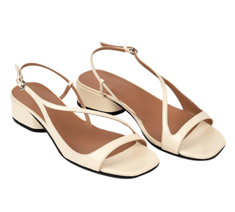 Sandals BIRDIE White Pompéii
