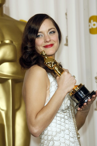 Best Oscars beauty looks: Marion Cotillard.