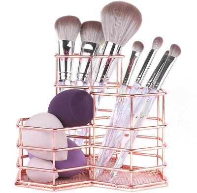 ANNE'S GIVERNY Makeup Brush Metal Organizer