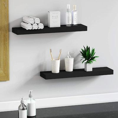 BAMEOS Floating Wall Shelf (L24xW6)