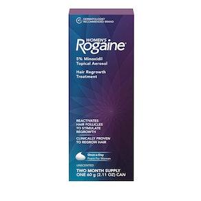 Women's Rogaine 5% Minoxidil Foam (2-Month Supply)
